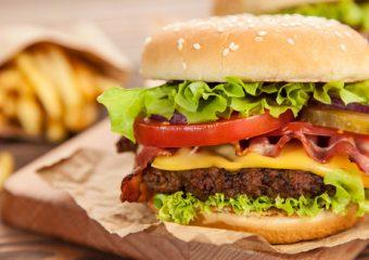 Wat als je elke dag hamburgers eet?