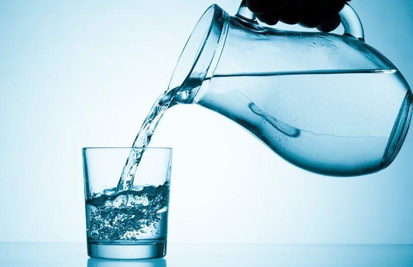 Wat als je veel water drinkt?