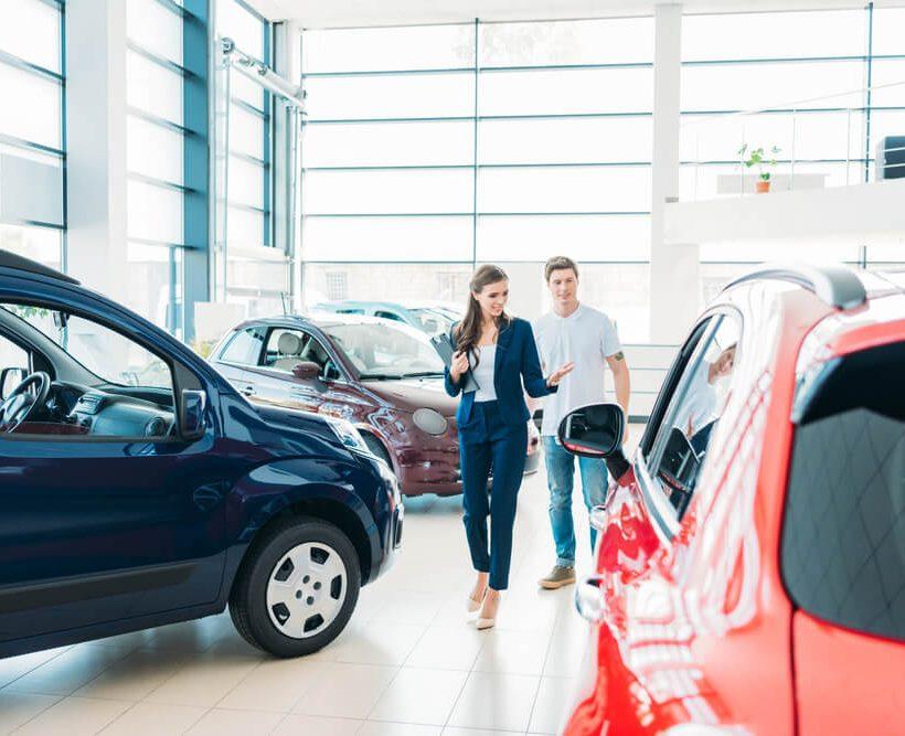 Wat als je een nieuwe auto wilt kopen?