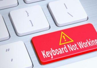 Wat als je toetsenbord niet meer werkt?